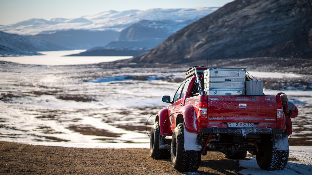 The First 4x4s to Traverse Greenland's Ice Sheet - by Outside Online