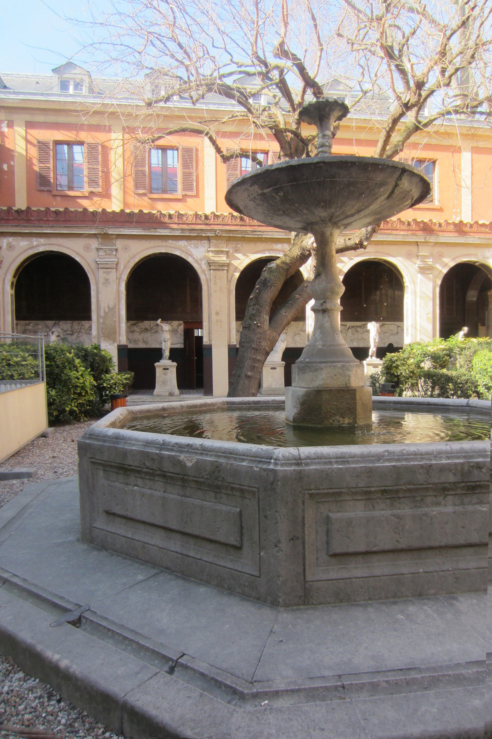 Courtyard at L'ecole Nationale Superieure des Beaux Arts
