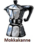 Mokkakannen-Kaffee im Schönbergers