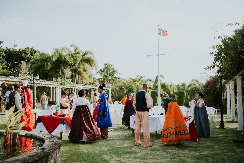 Celeste + Chris's Destination Wedding in Nevis, West Indies Korean Ceremony_0028.jpg