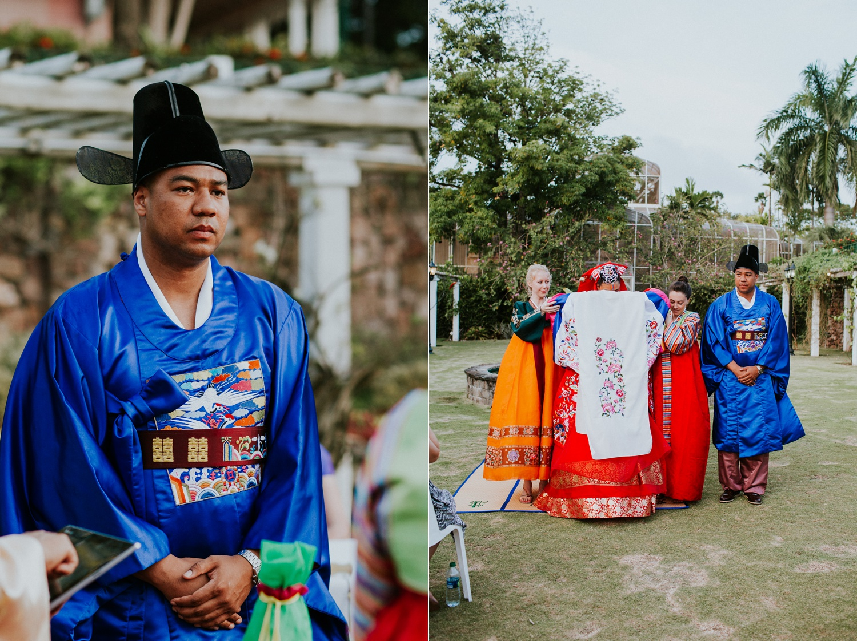 Celeste + Chris's Destination Wedding in Nevis, West Indies Korean Ceremony_0040.jpg