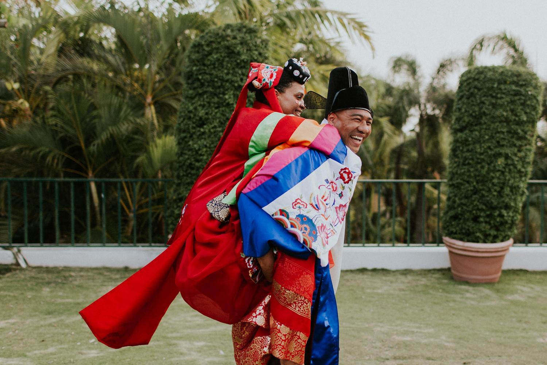 Celeste + Chris's Destination Wedding in Nevis, West Indies Korean Ceremony_0047.jpg