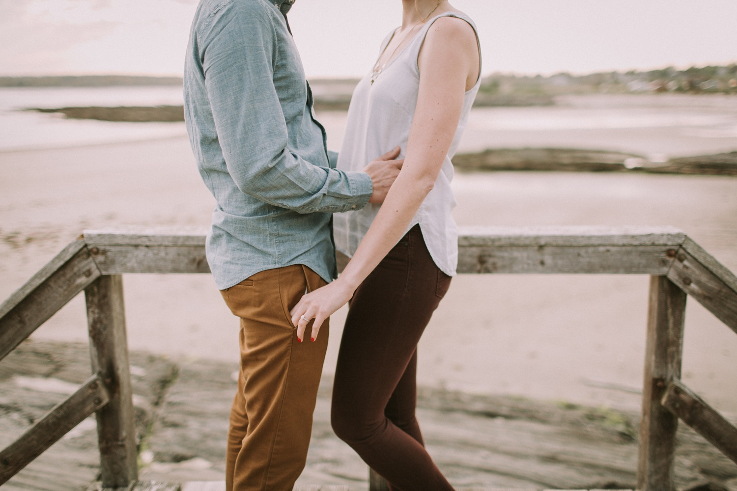 Engagement Photos at Eventide Oyster Bar + Kettle Cove, Maine_0015.jpg