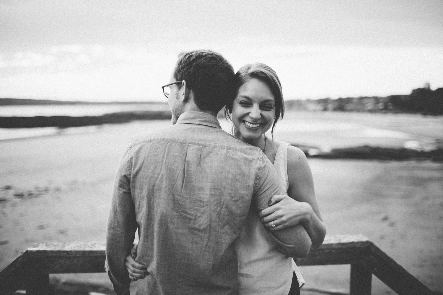 Engagement Photos at Eventide Oyster Bar + Kettle Cove, Maine_0014.jpg