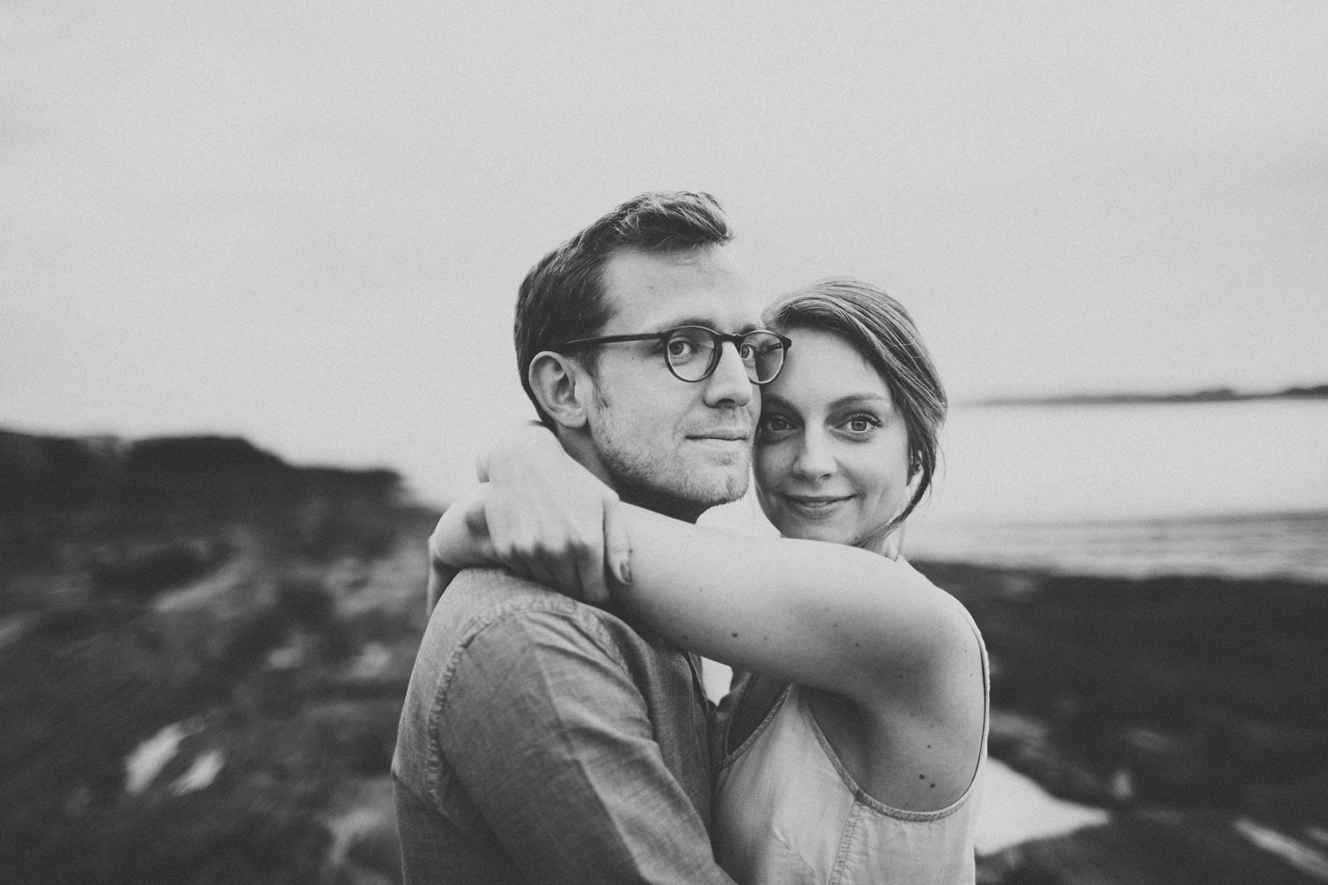 Engagement Photos at Eventide Oyster Bar + Kettle Cove, Maine_0016.jpg