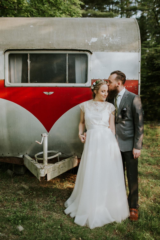 Intimate New Hampshire Brewery Wedding