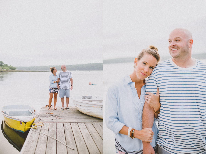 Maine Anniversary Photo Shoot | Popham Beach