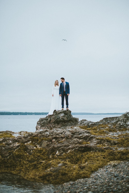 Bar Harbor Maine Fine Art Wedding Photographer