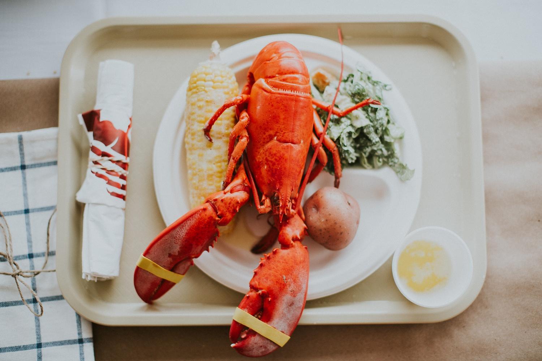 Maine Wedding Meal