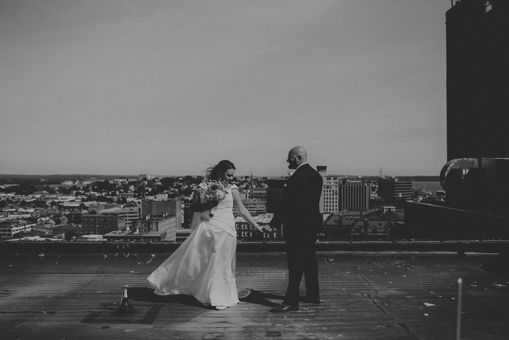 Westin Portland Maine wedding