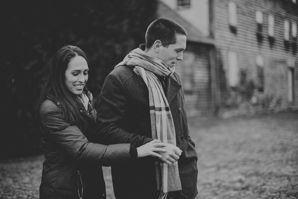 Portsmouth NH engagement session