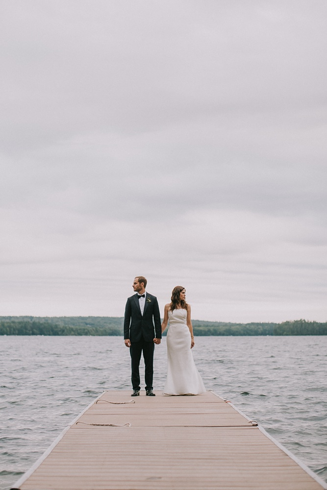 maine summer camp wedding photographer