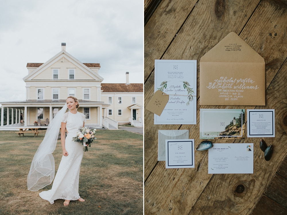 Laudholm Farm wedding Maine photographer
