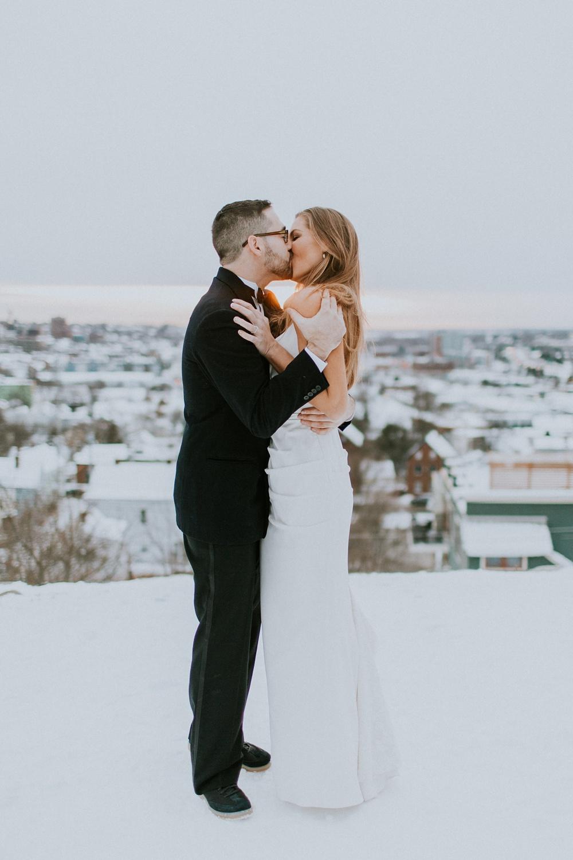 maine winter wedding