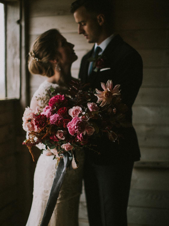 moody maine wedding