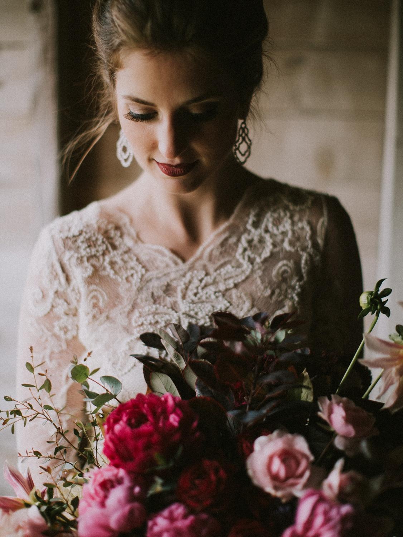 moody and romantic maine wedding inspiration