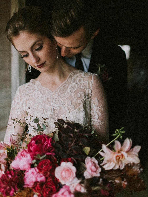 moody maine wedding inspiration
