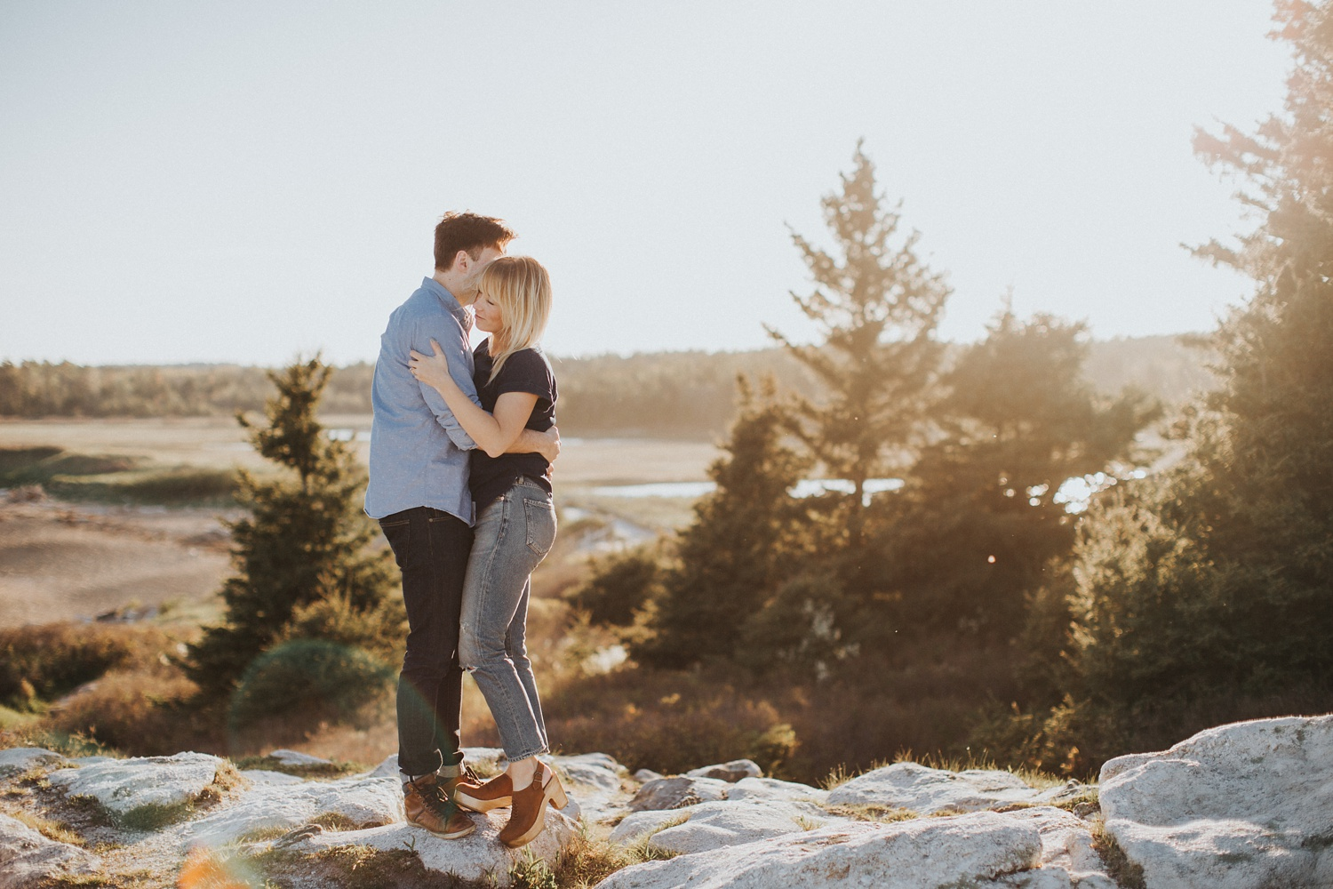 maine fine art wedding and engagement photographer