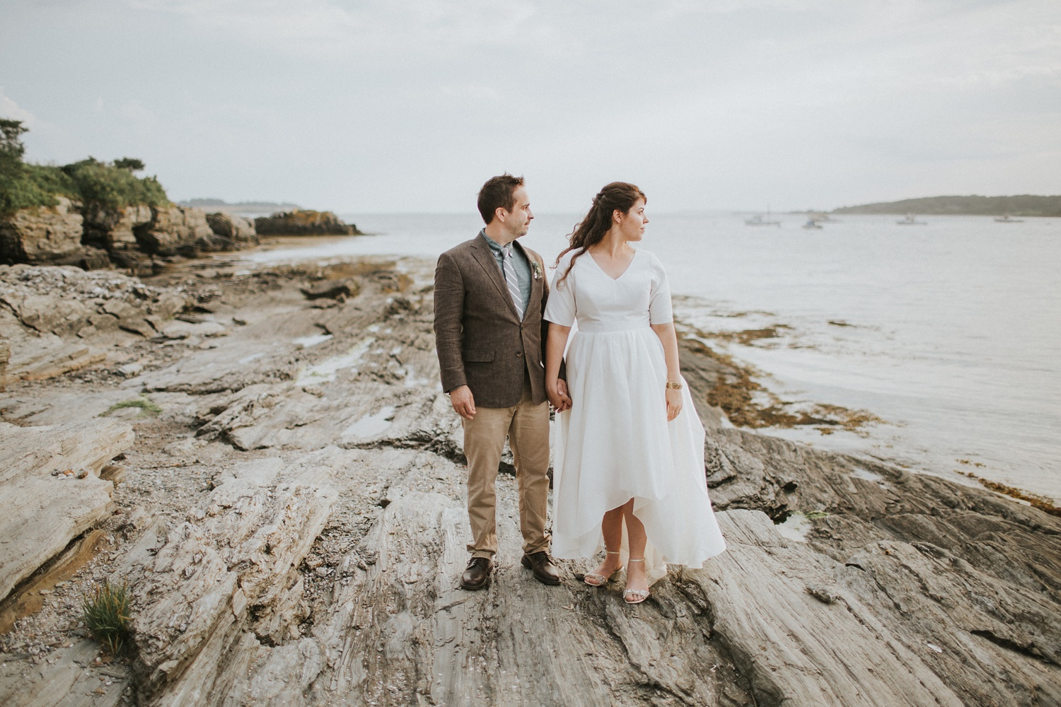 maine elopement fine art photography