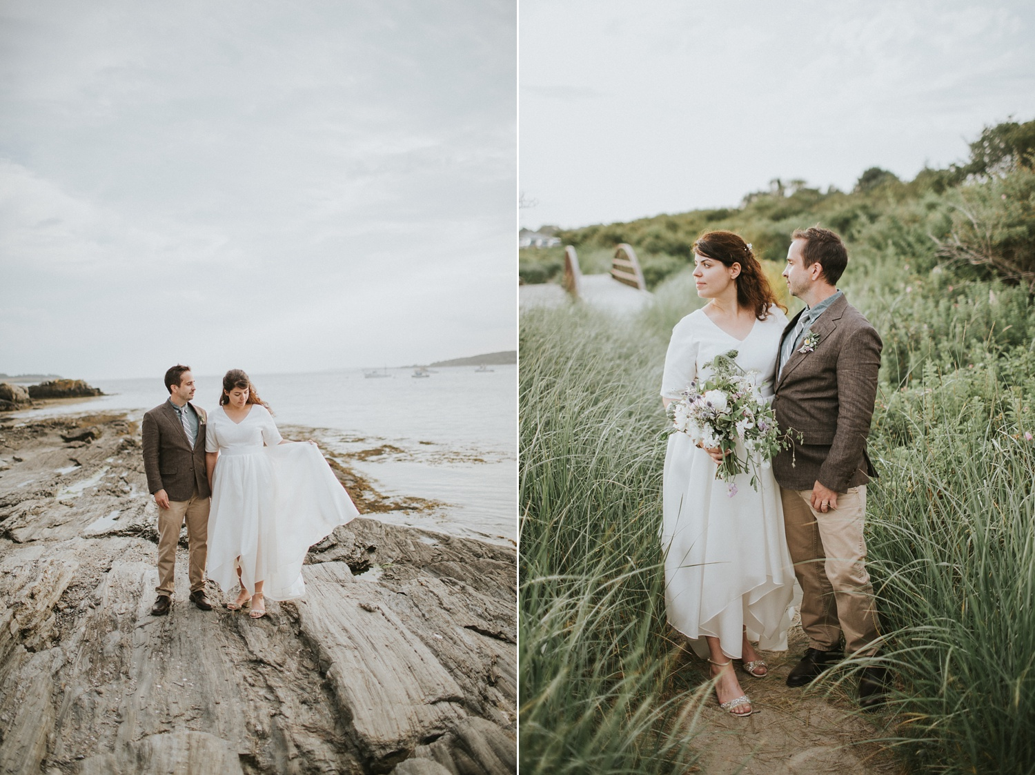 maine wedding kettle cove photography