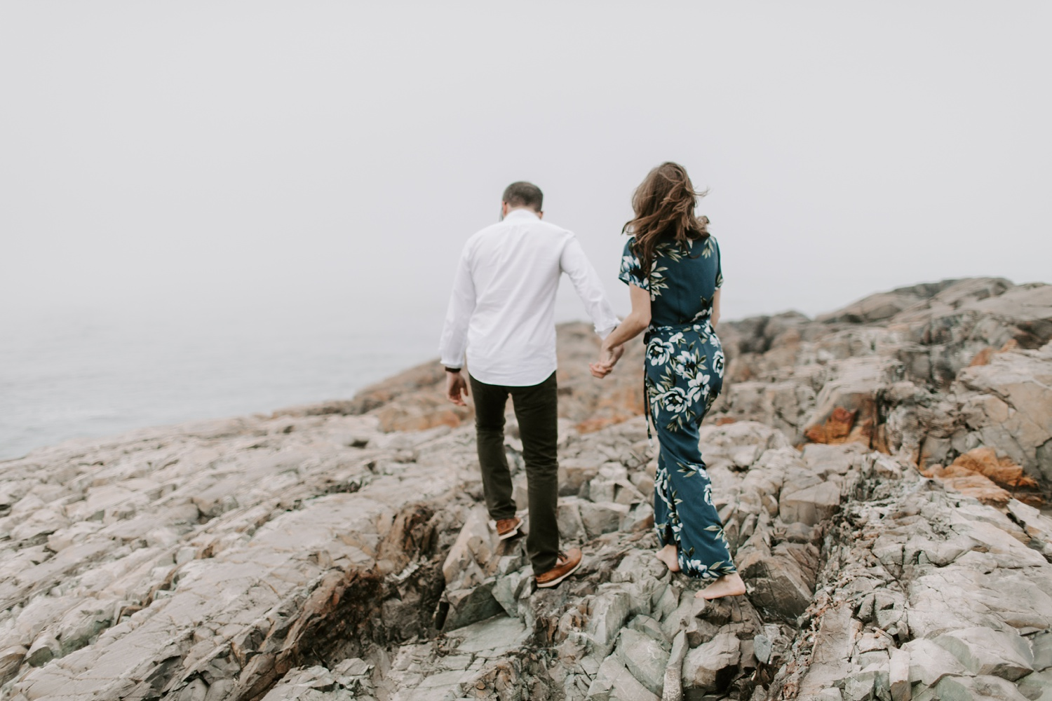 Ogunquit Maine Engagement photographer Beach Engagement