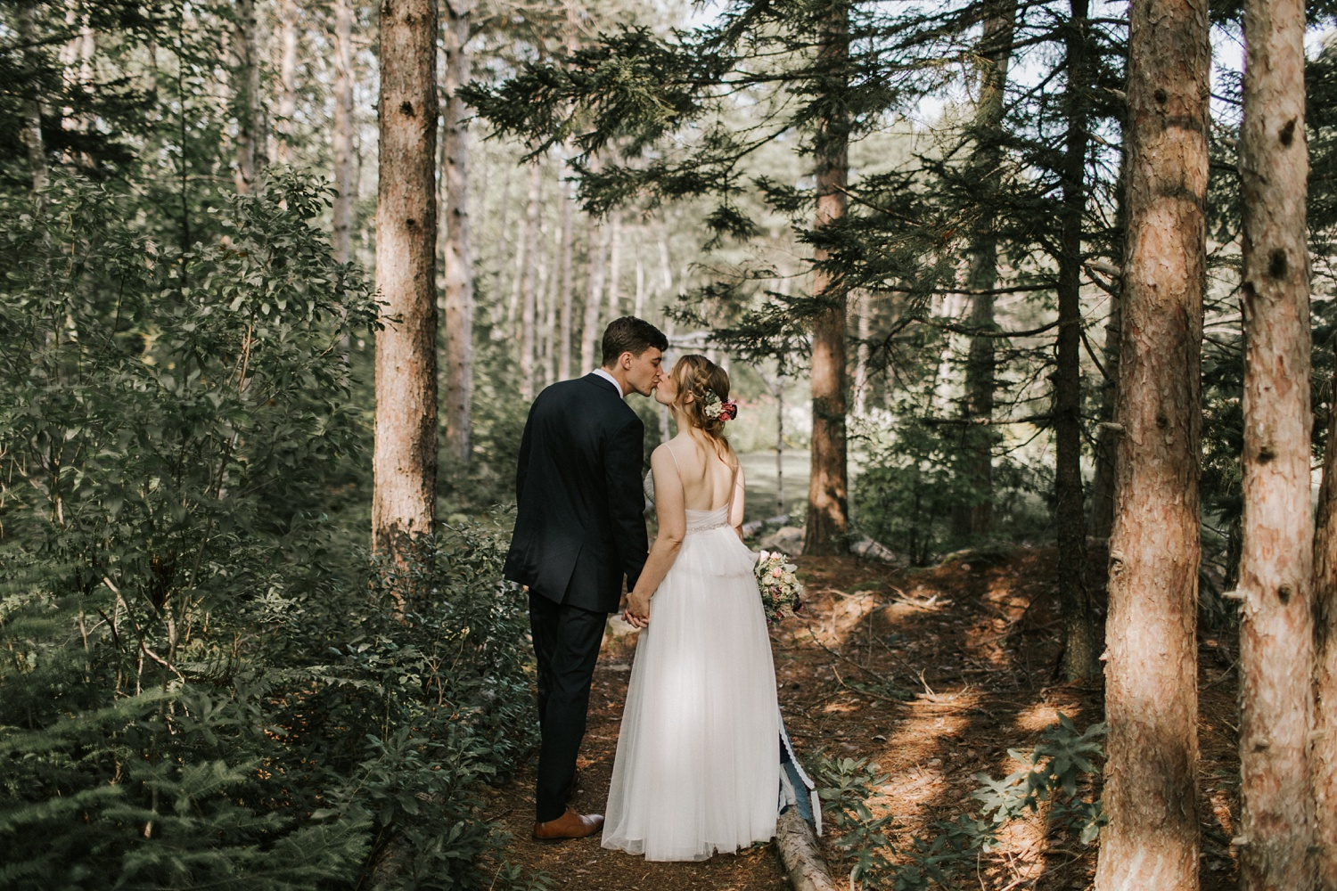 Hidden Pond, Wedding Venue, Wedding Photography, Wedding Photographer, Maine Wedding, BHLDN, Wedding Dress, Watershed Floral