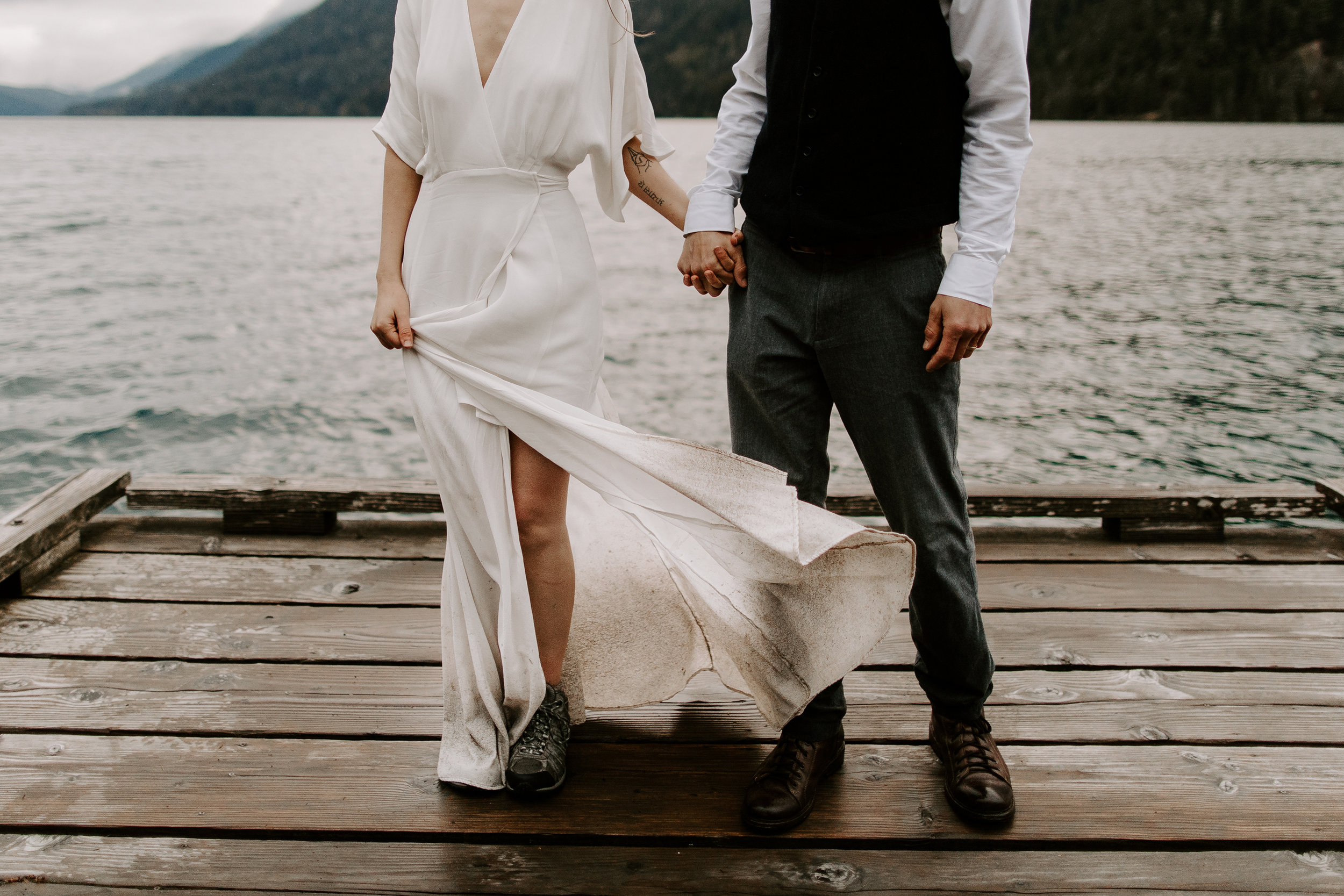 Mia + Jamie - Olympic National Park ELOPEMENT