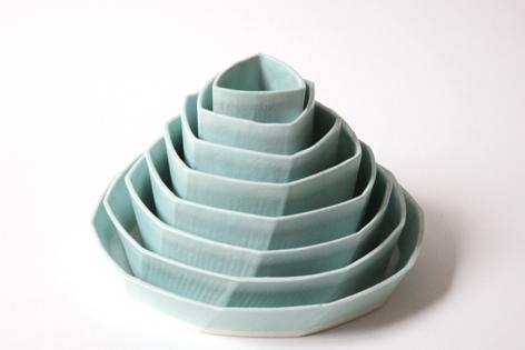 Phoebe McDonald geometric nesting vessels 2.jpg