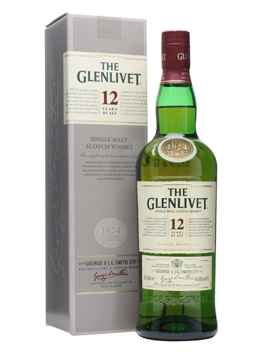 The Glenlivet 12 anos