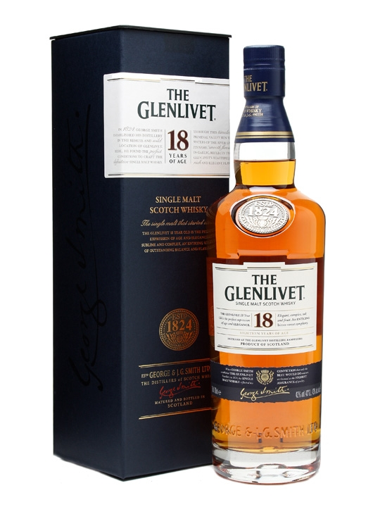 The Glenlivet 18 anos