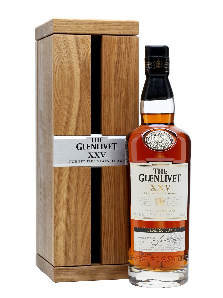 Em Breve  The Glenlivet XXV (25 Year Old)
