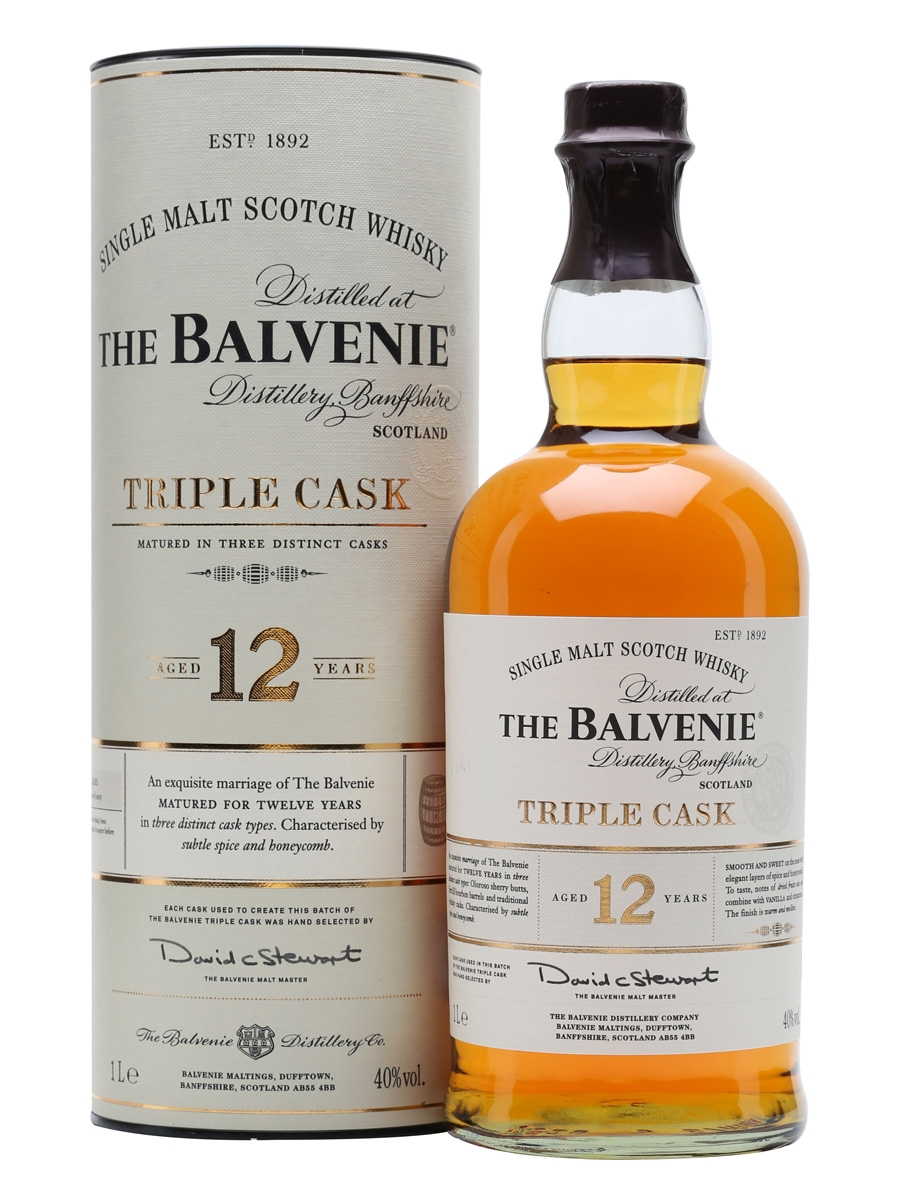 Balvenie Triple Cask 12 anos