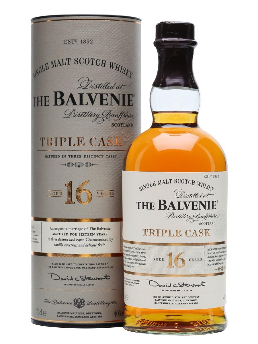 Balvenie Triple Cask 16 anos