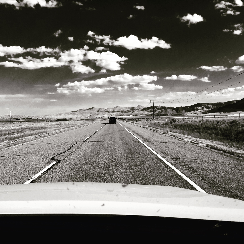 On the road through Eastern Idaho.