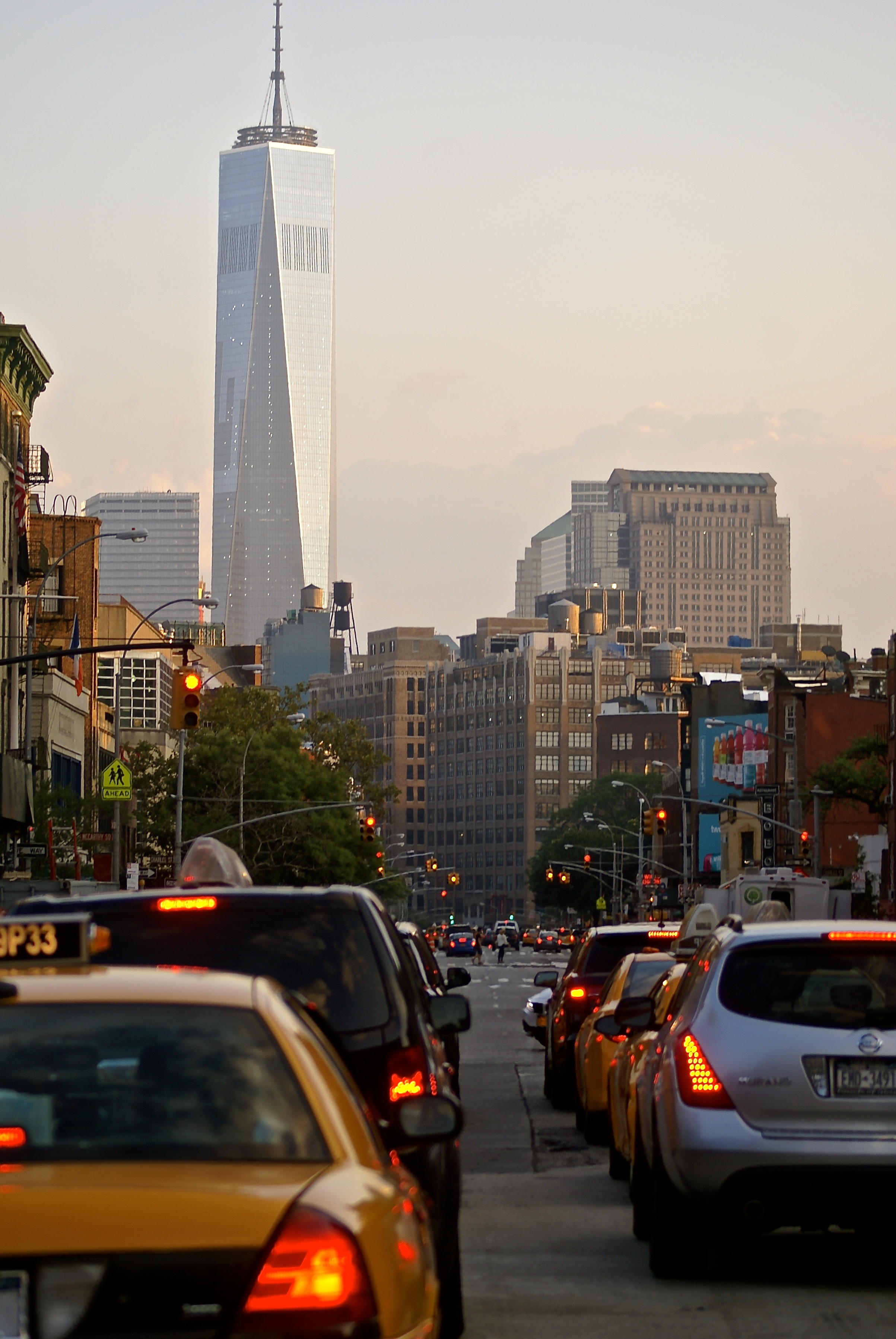 The Freedom Tower as seen from Chelsea.