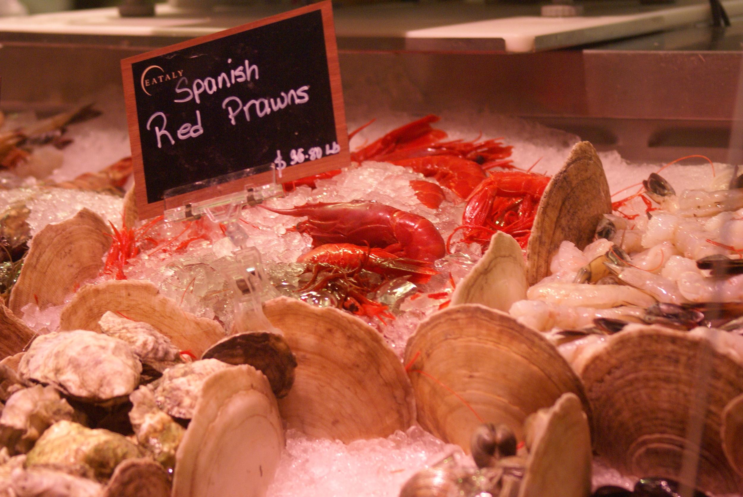 Fish Market at Eataly.