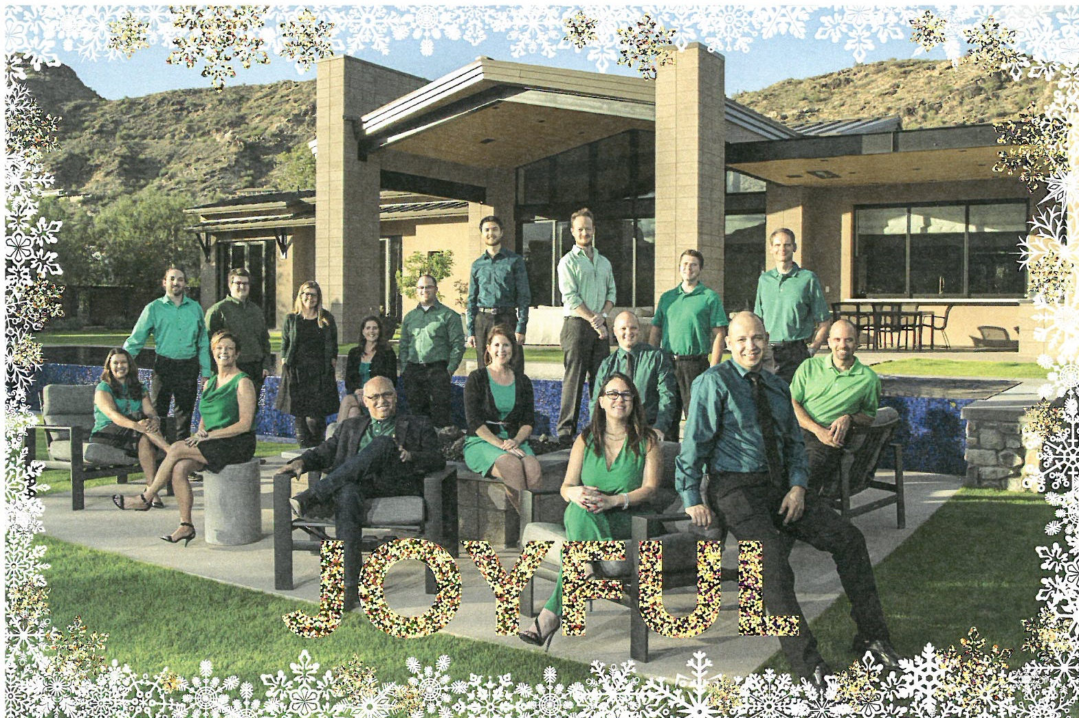 Happy Holidays from the crew at Candelaria Design