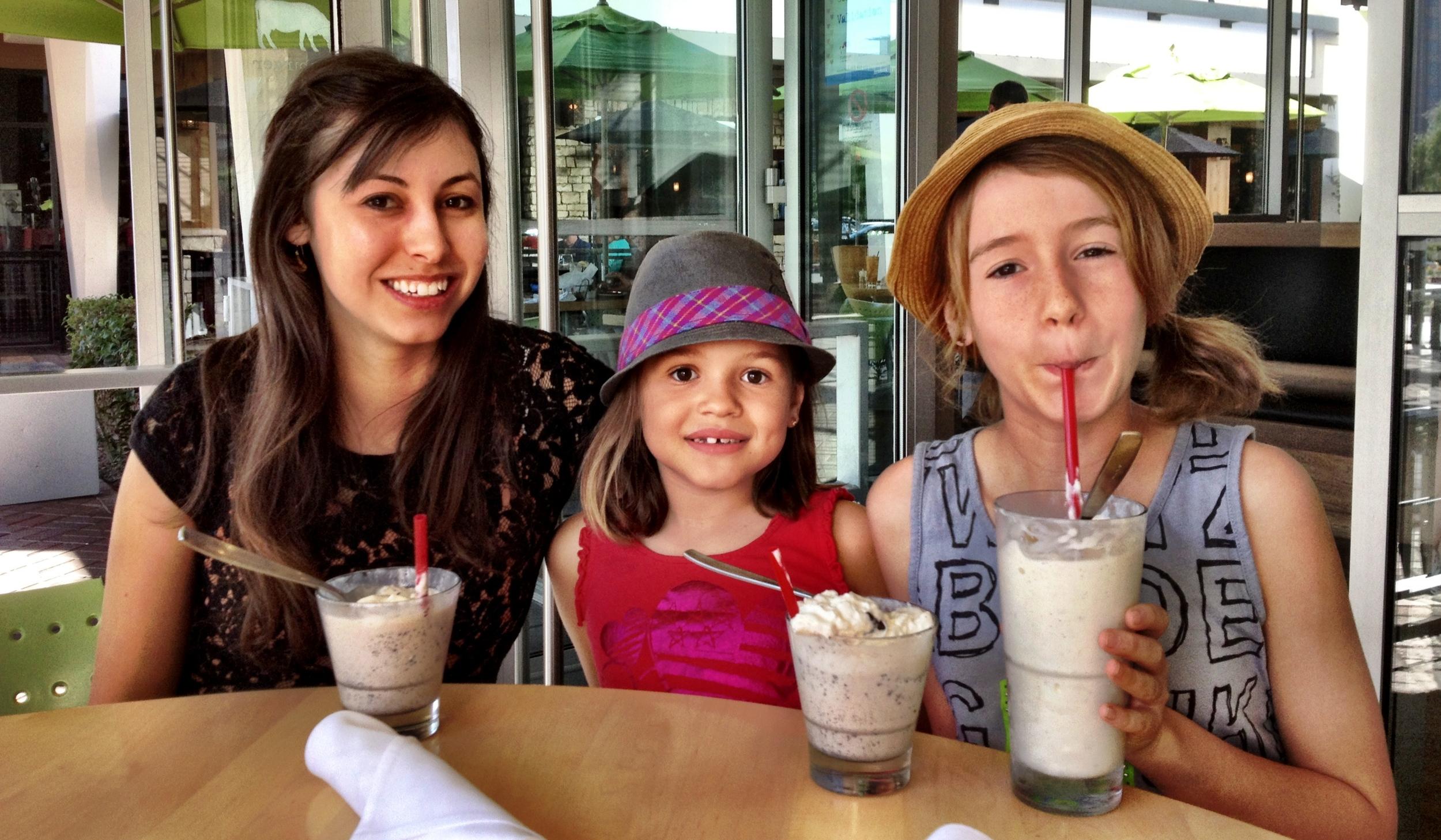 The Candelaria girls - Tiffany, Sophia and Bella