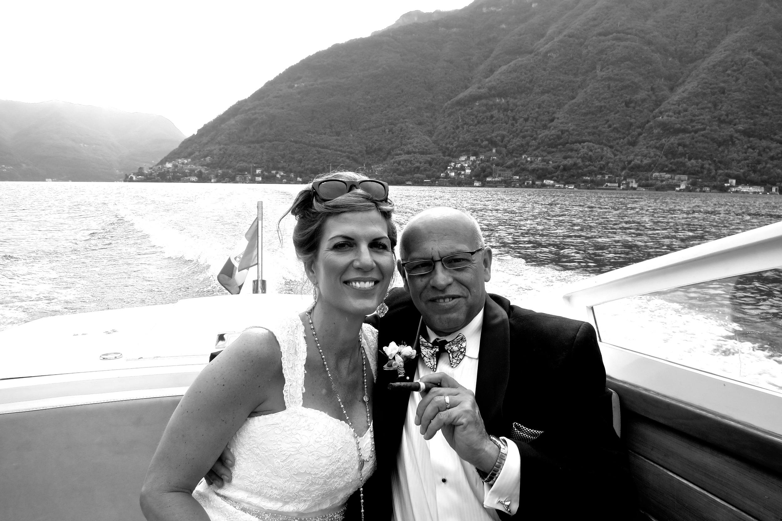 Wedding Day September 16, 2013 - Lake Como, Italy