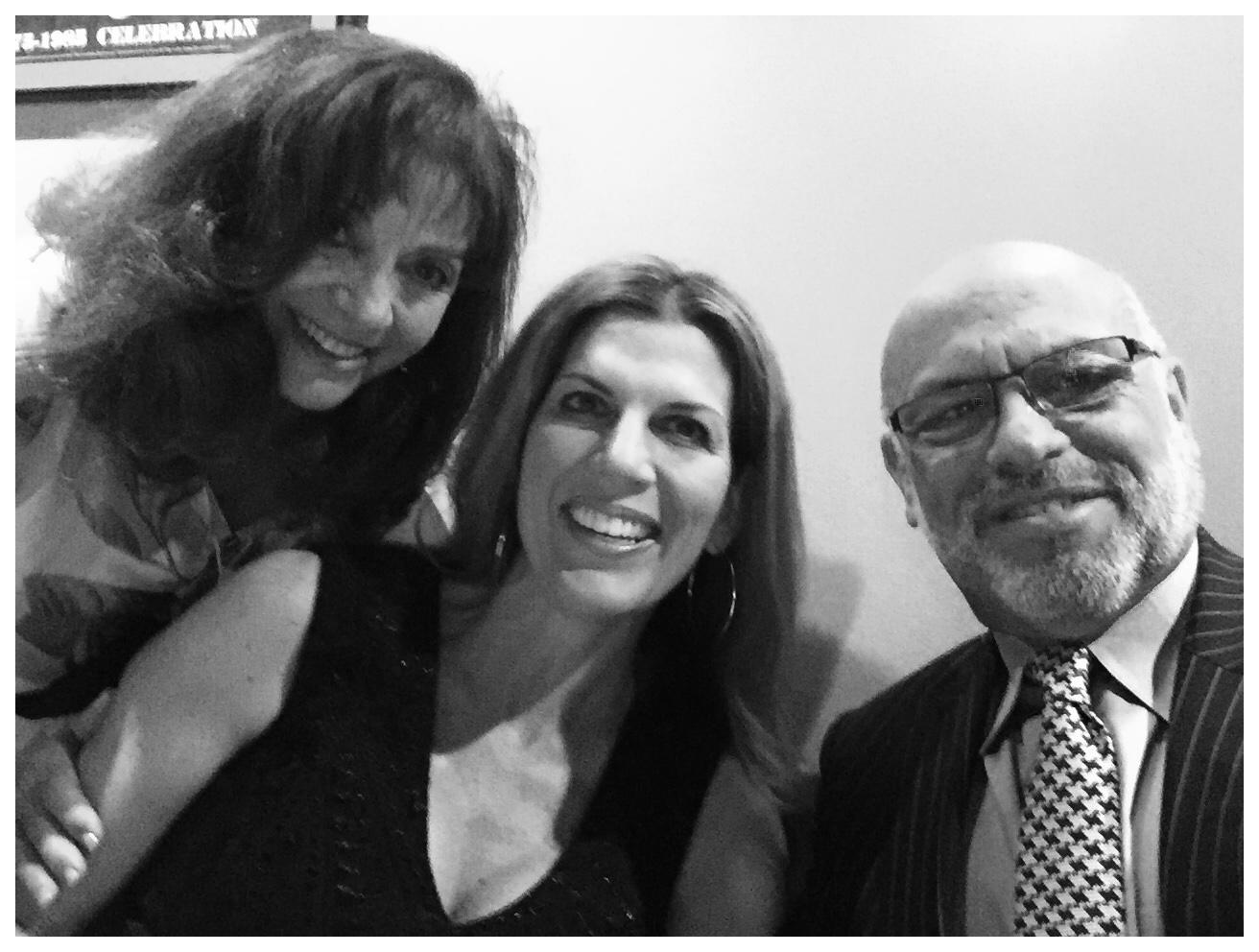 Patricia Livi, Isabel and MC at Avanti's