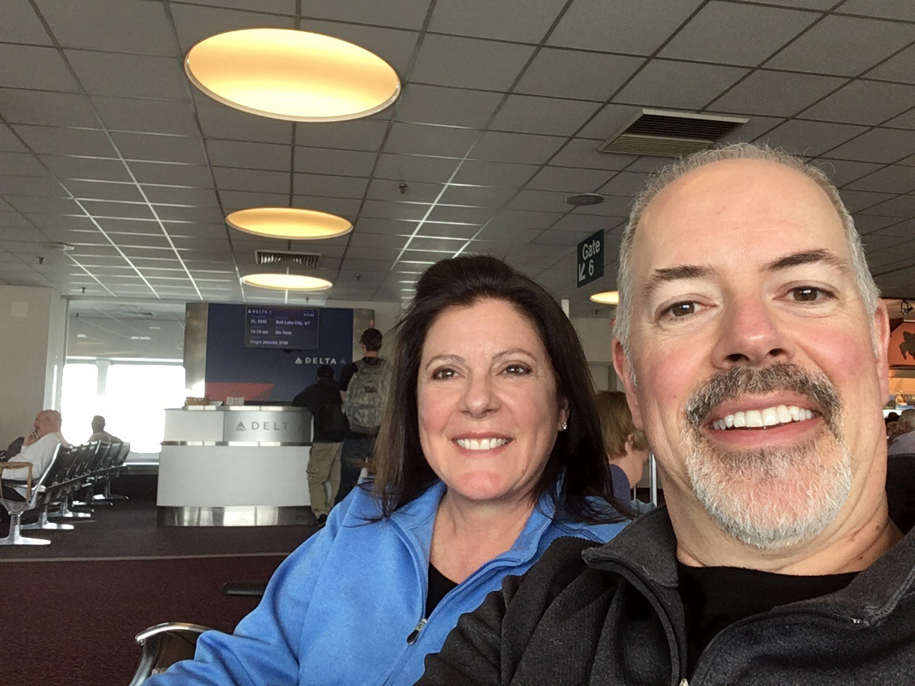 Diane and John Whittaker joining us from Coeur d'Alene, Idaho