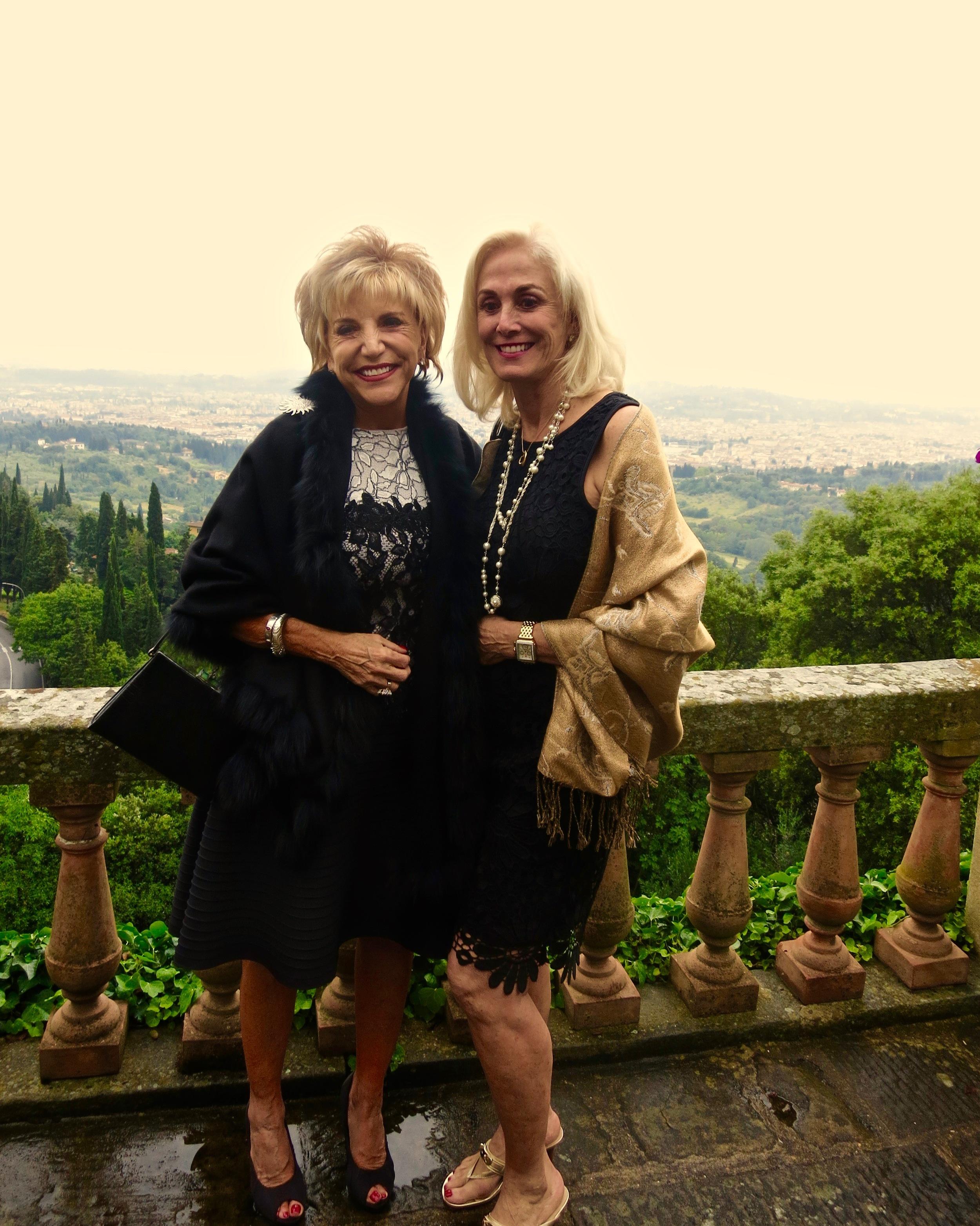 Sandra Wilken and Linda Kerley