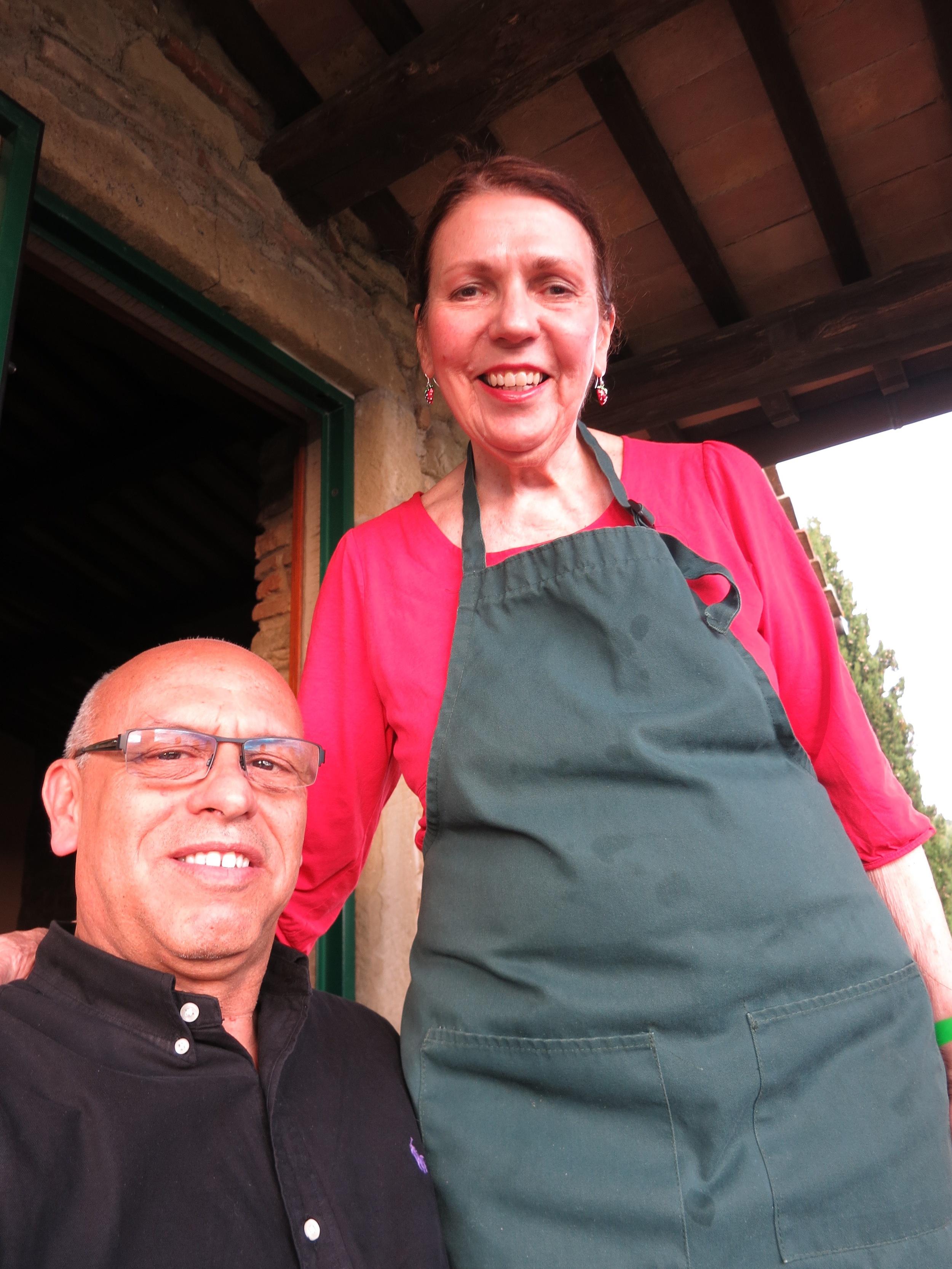 Mark with Elizabeth Wholey