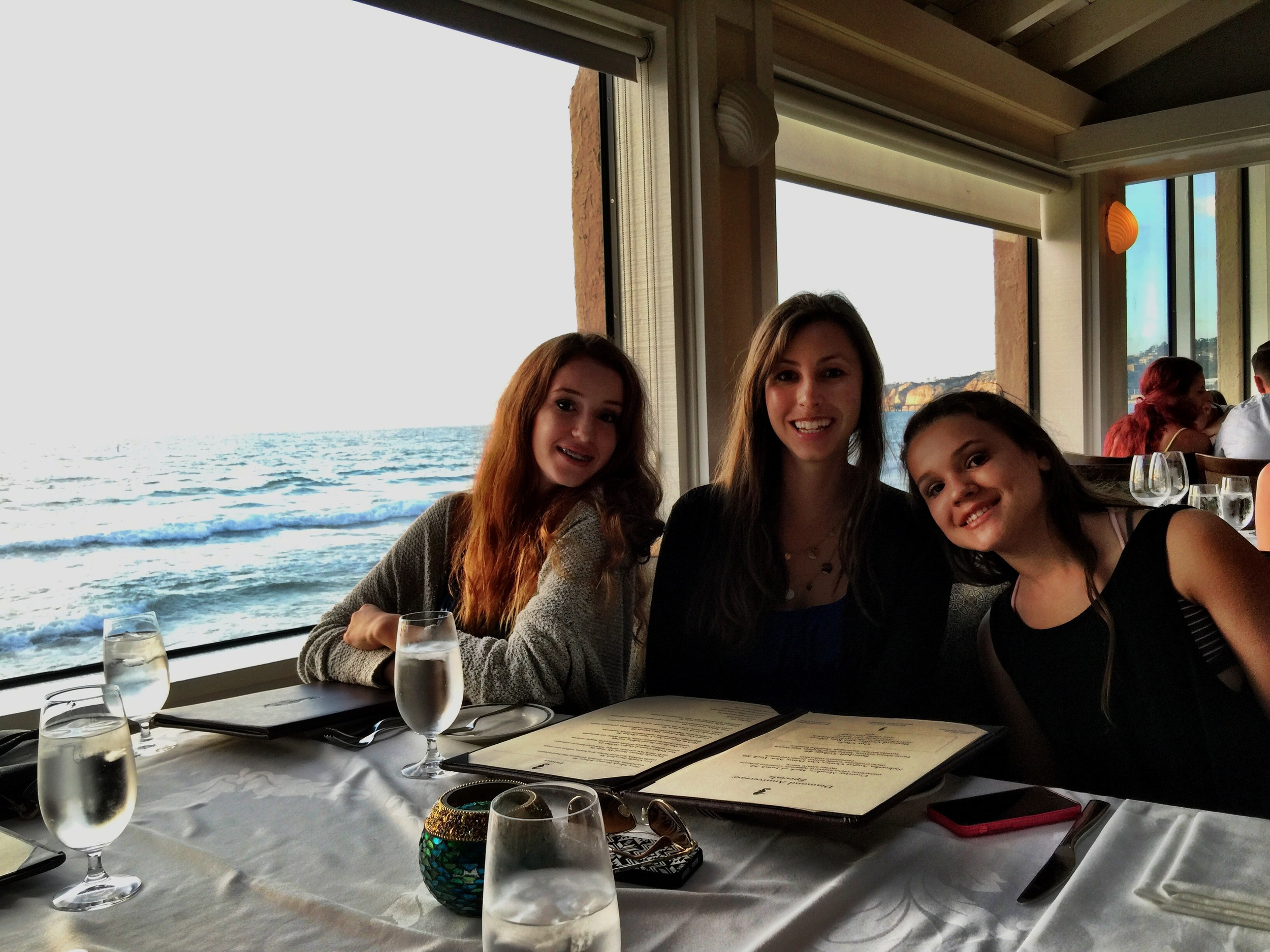 The Candelaria Girls at the Marine Room