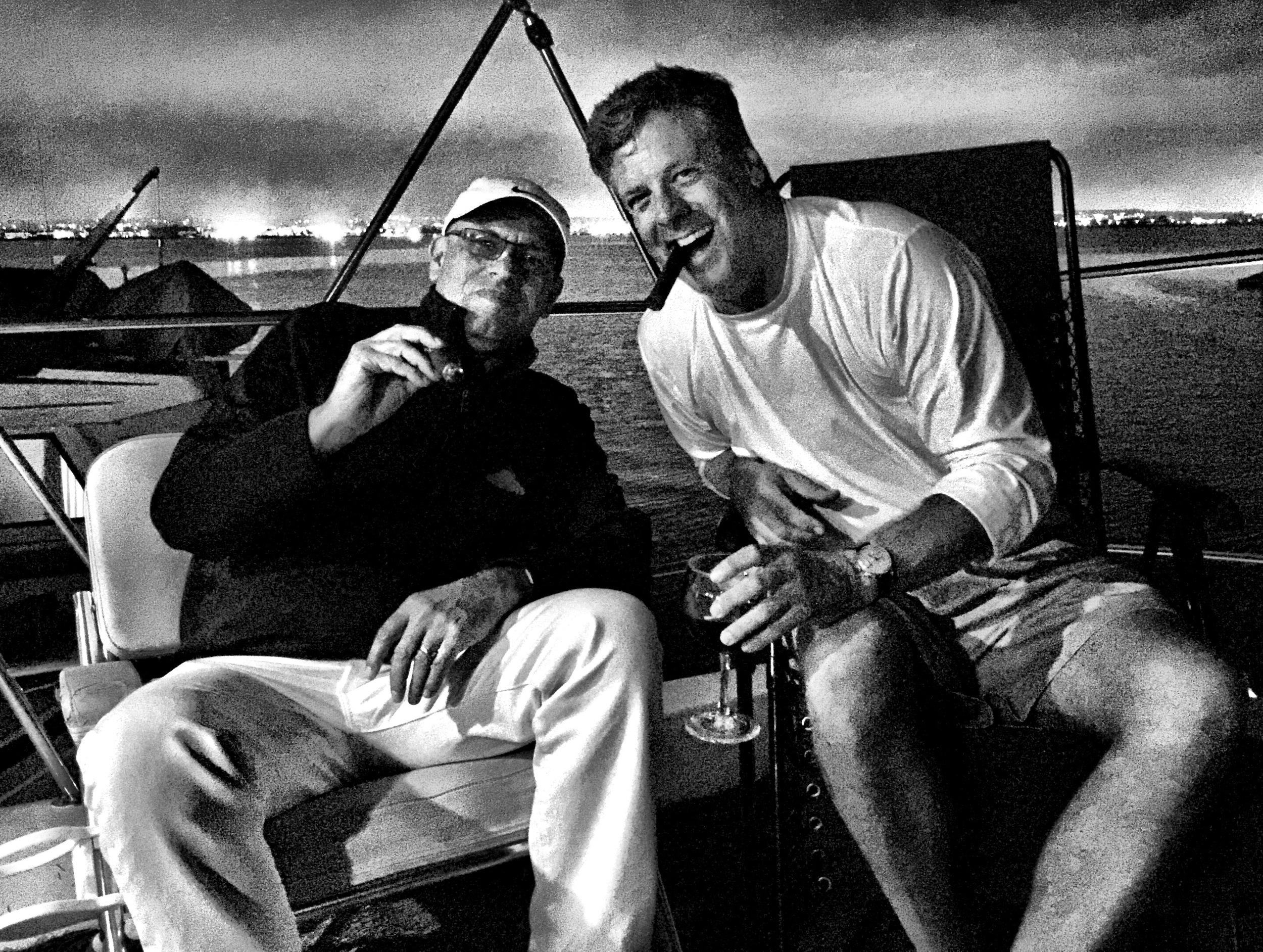MC and Charles Keller in Coronado Bay