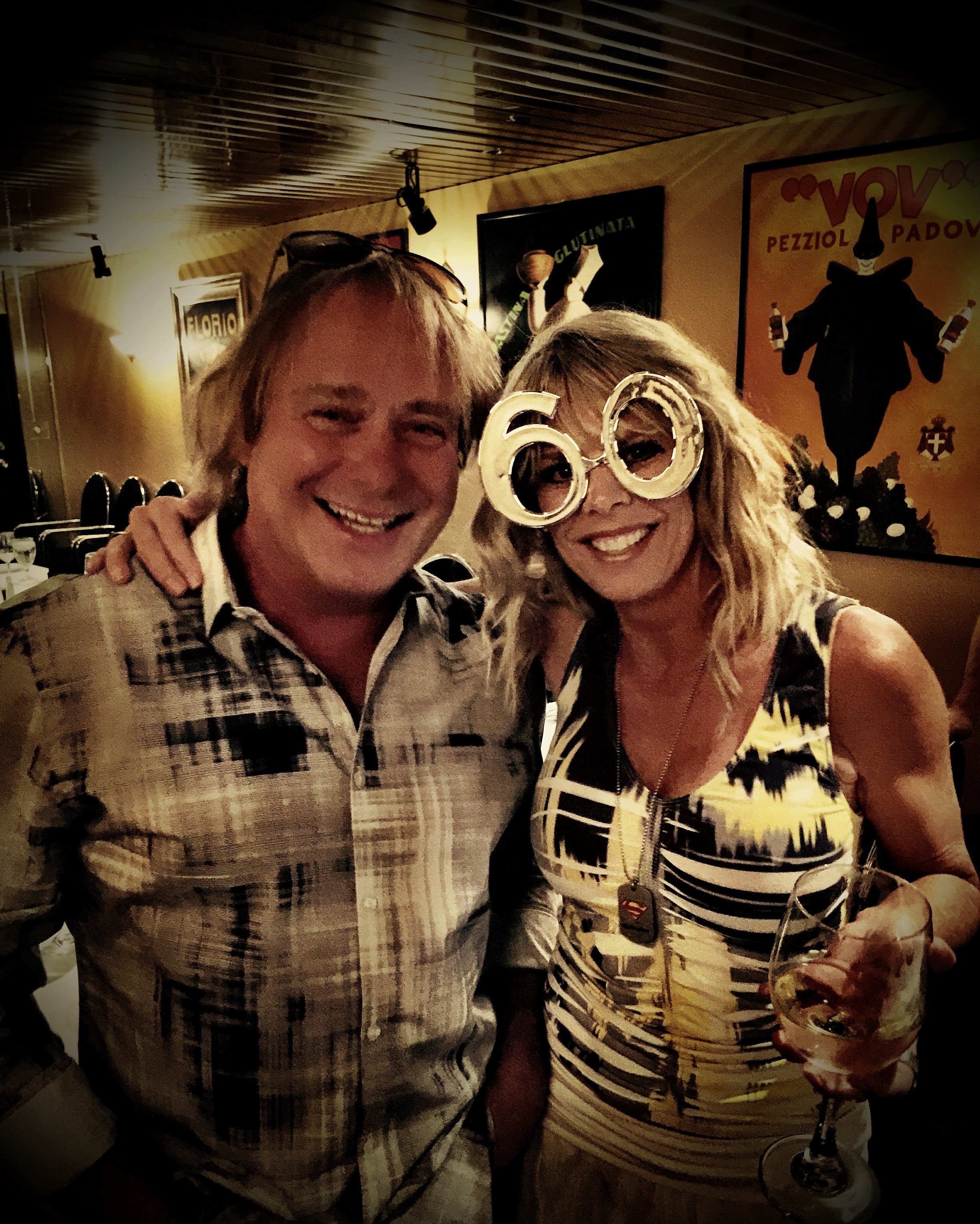 Walter Spitz and Michele Watts at Avanti's