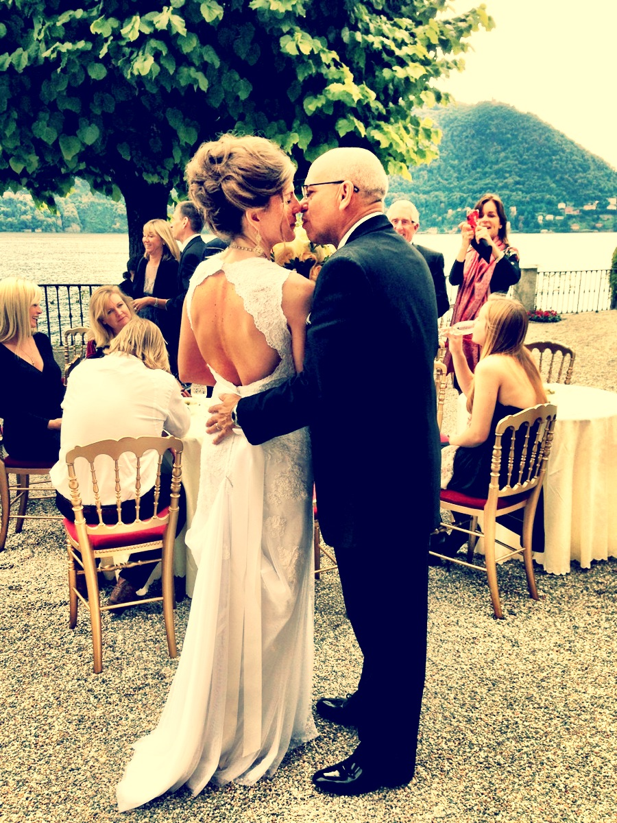 A little romance at Lake Como - Wedding Day September 16, 2013