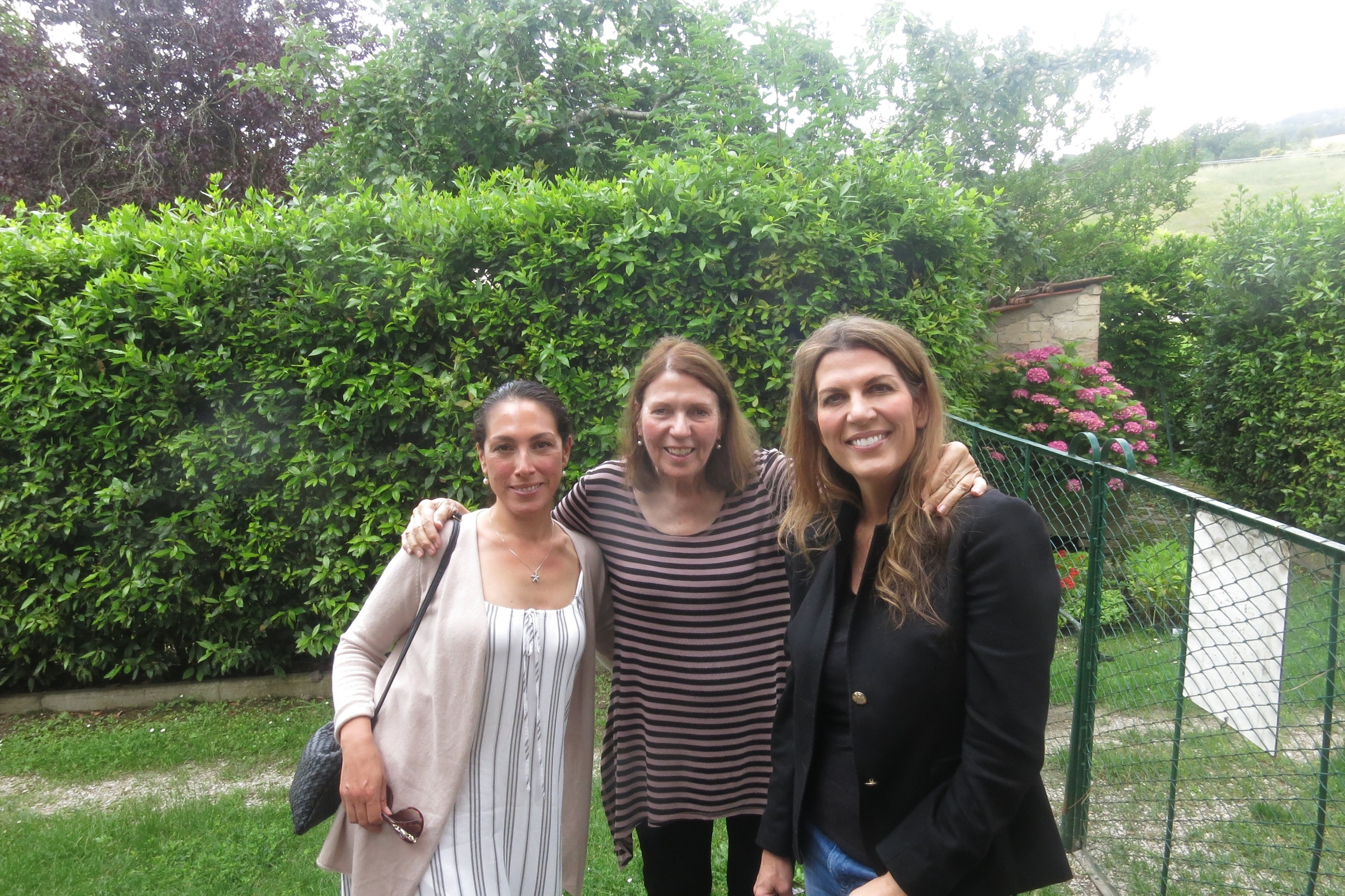 Gicela Dulcich, Elizabeth Wholey and Isabel