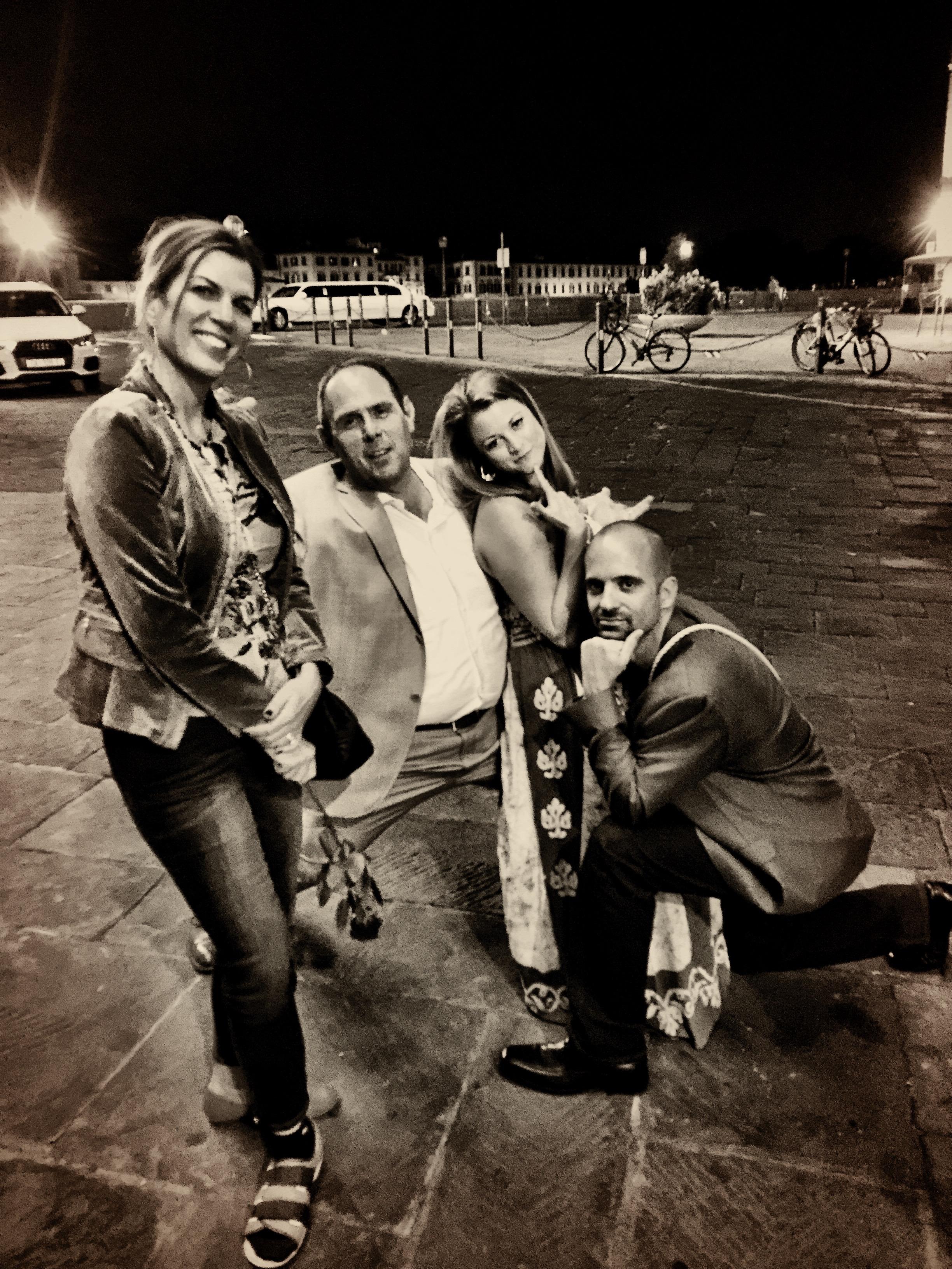Isabel, Kenny Moskowitz, Kimberly and Rob Banach