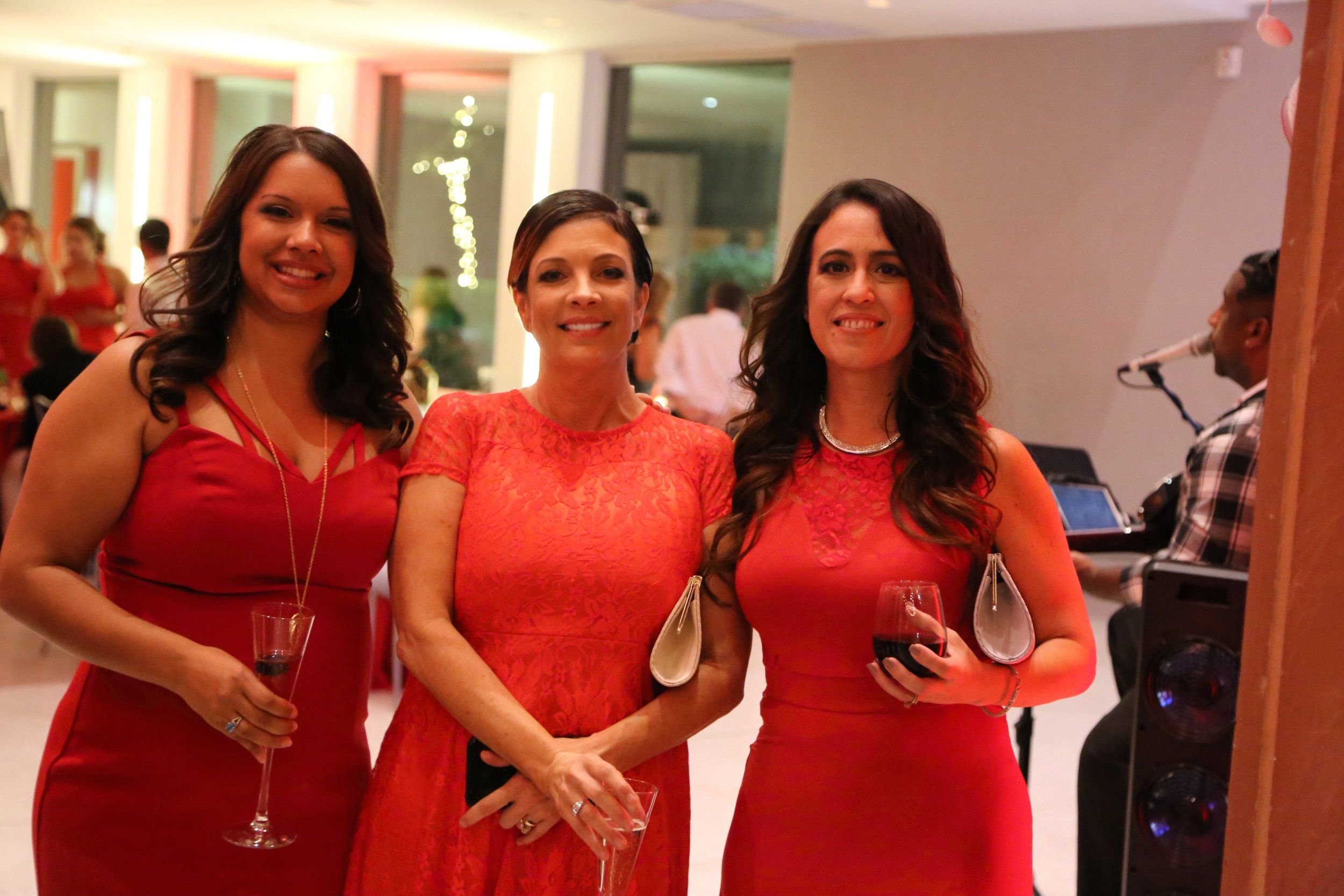 Evelyn Jung, Stacey Payne and Vivian Ayala - the ladies who run the Candelaria Design show!